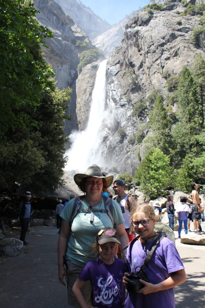 Lower Falls, Yosemite Valley