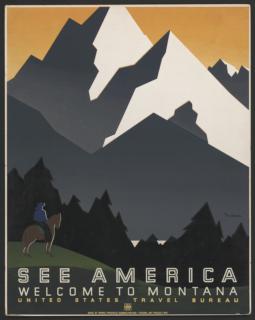 welcome_to_montana_wpa_poster